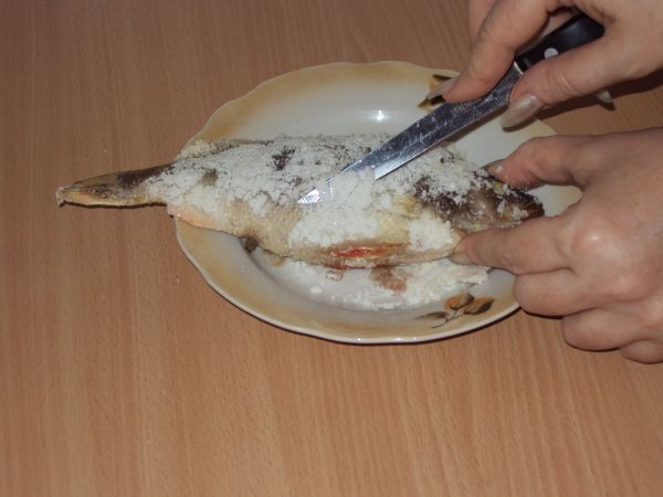 счищаем соль