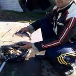 дневник рыбака 11 09 2010 ловля окуня на Кураховском водохранилище
