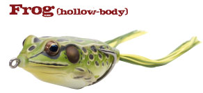 воблер лягушка livetarget Frog koppers