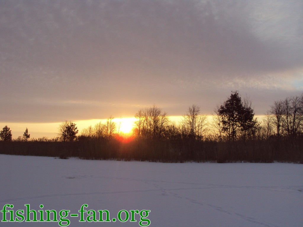 рыбалка зимой в Украине