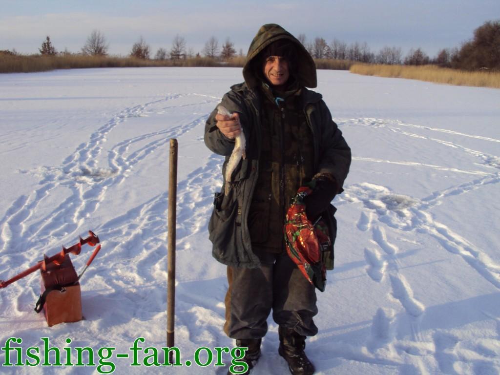 ловля щуки зимой в Украине
