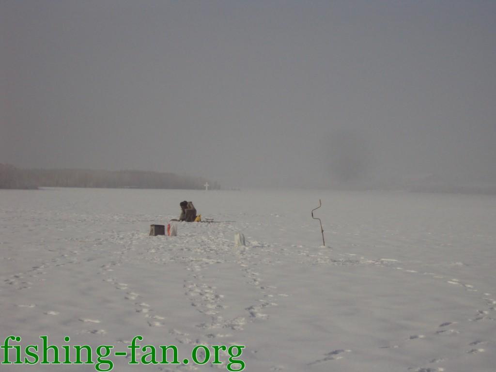 Рыбалка зимой на Уманском