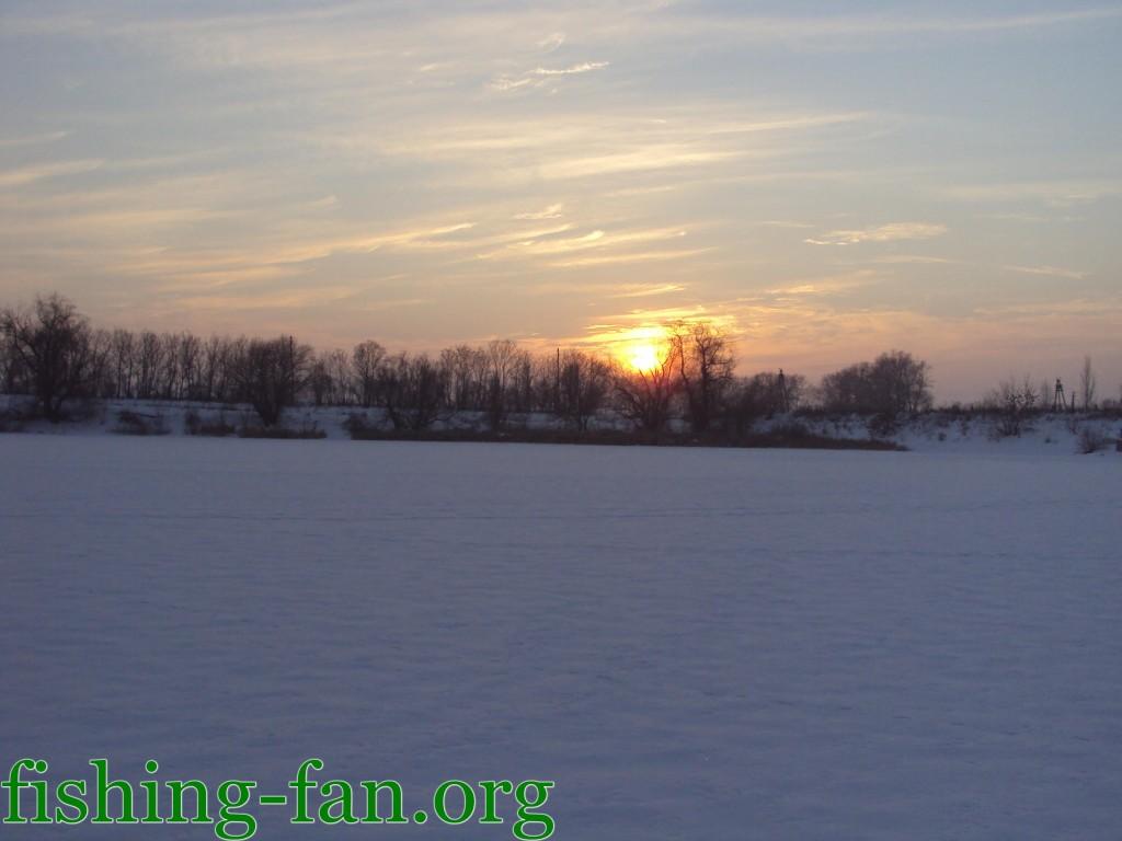 рыбалка зимой в Донецкой области