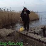 Дневник рыбака 12 01 2011 Зимняя рыбалка в Украине