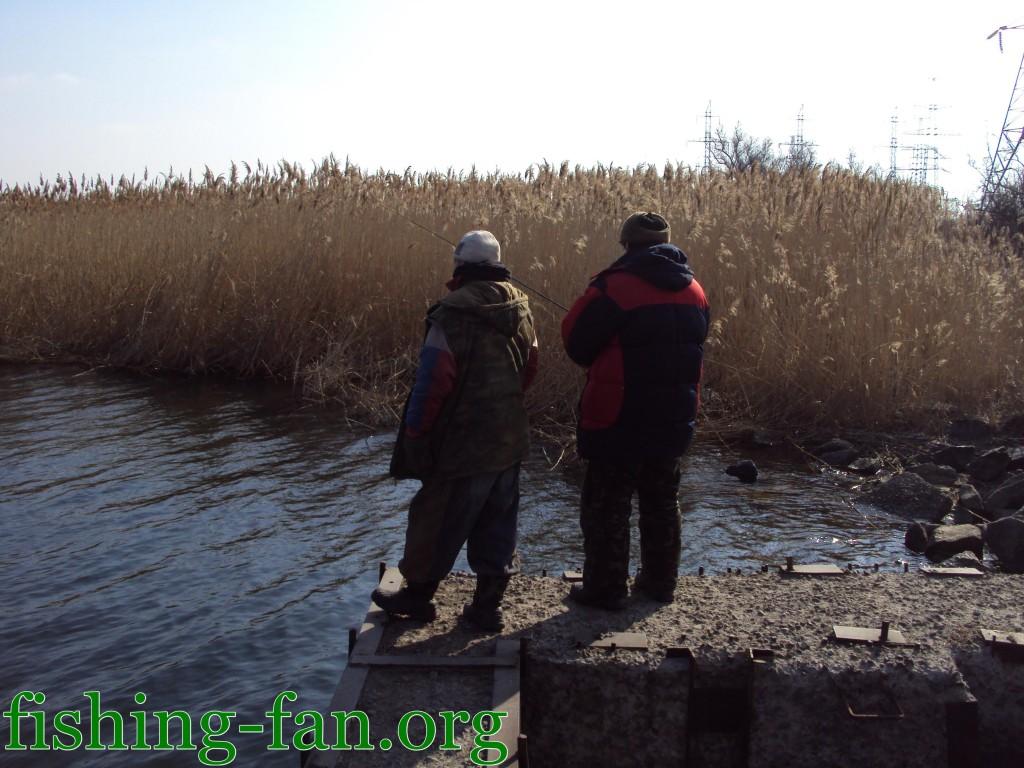ловля на спиннинг весной в Украине