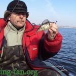 рыбалка весной на курахово с лодки