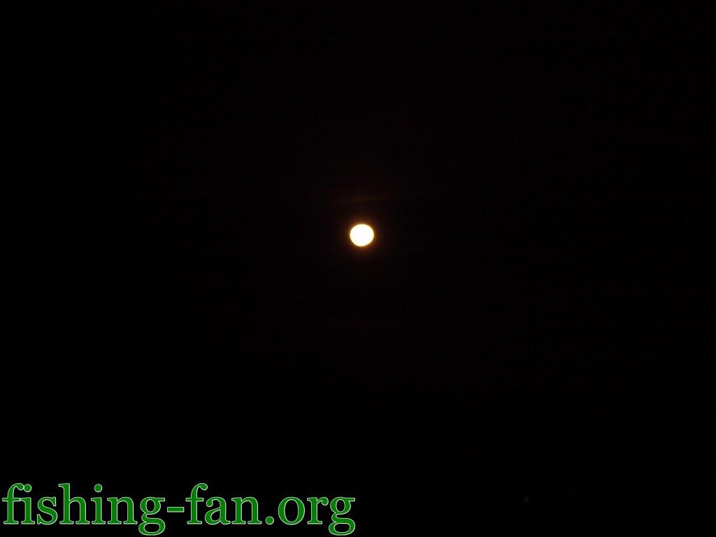 луна весной