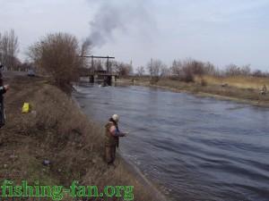 весенняя рыбалка на спиннинг в Донецке