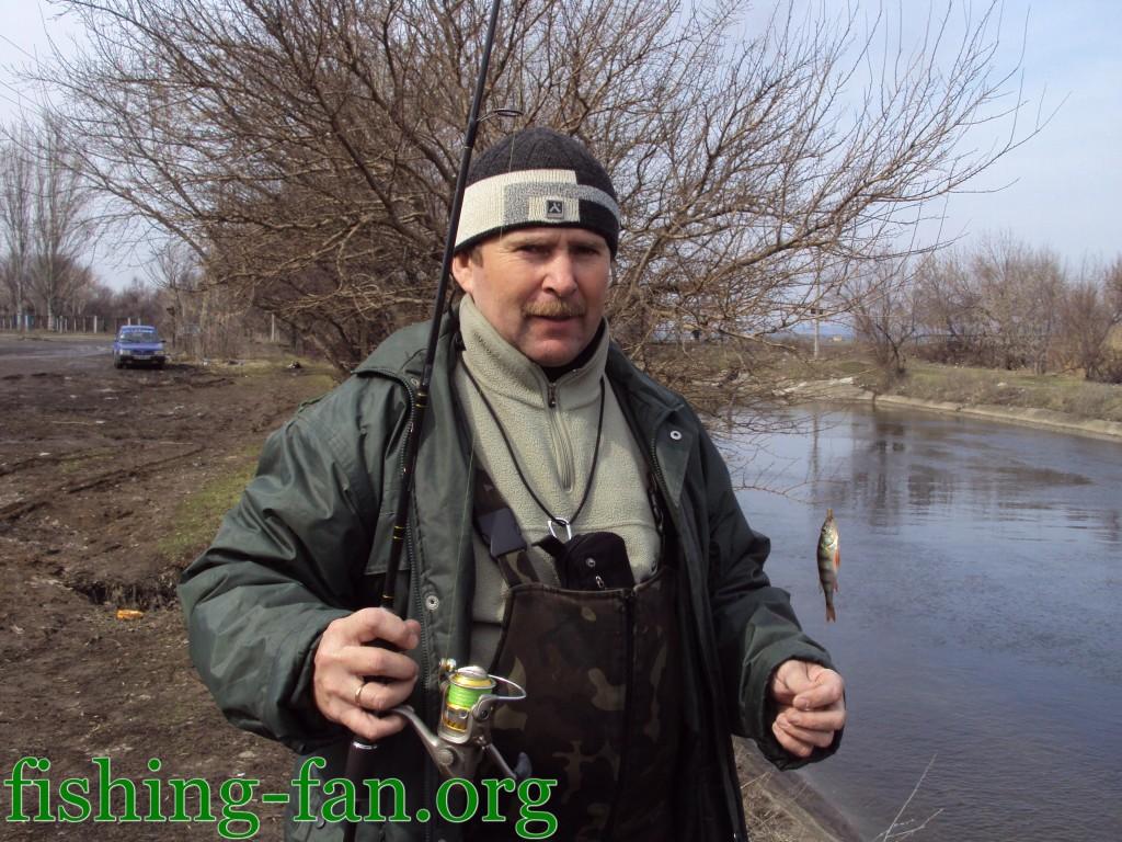 рыбалка весной на спиннинг на курахово