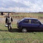 Дневник рыбака 11 04 2011. Ловля щуки весной на спиннинг в Донецкой области.