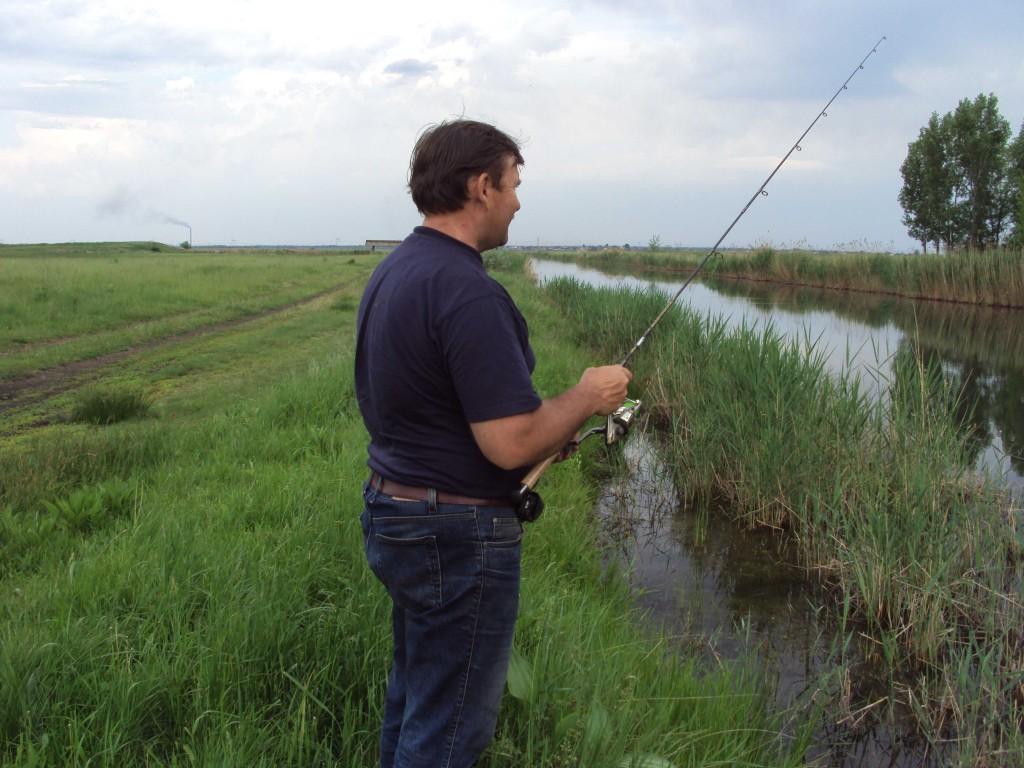 ловля на спиннинг в Донецкой области