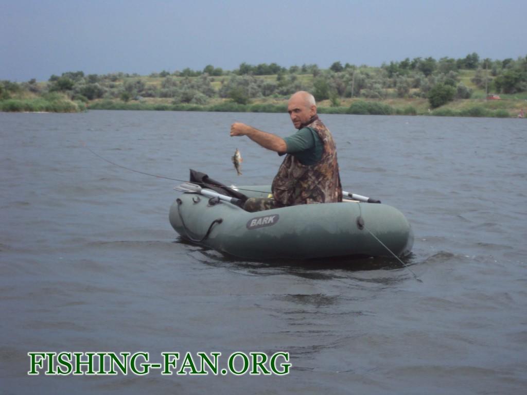 рыбалка летом на окуня в Донецкой области