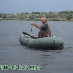 Дневник рыбака 26 06 2011. Рыбалка летом в дождь в Донецкой области.
