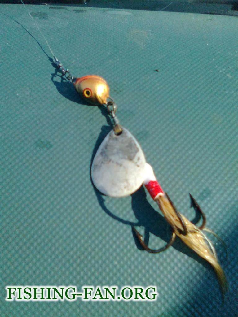 вертушка для ловля на спиннинг