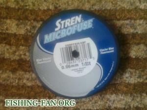 шнур для спиннинга Stren microfuse – 0.06