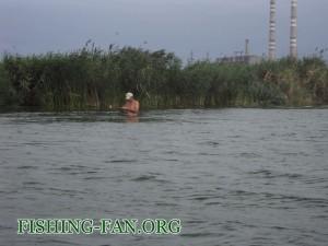 ловля окуня на силикон в Донецкой области