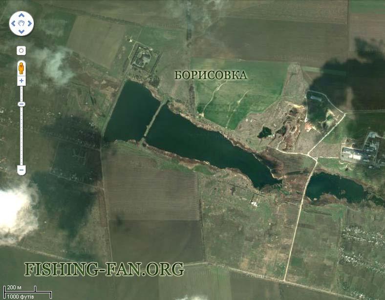 рыбалка на Борисовке