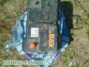 аккумулятор для электродвигателя в надувной лодке