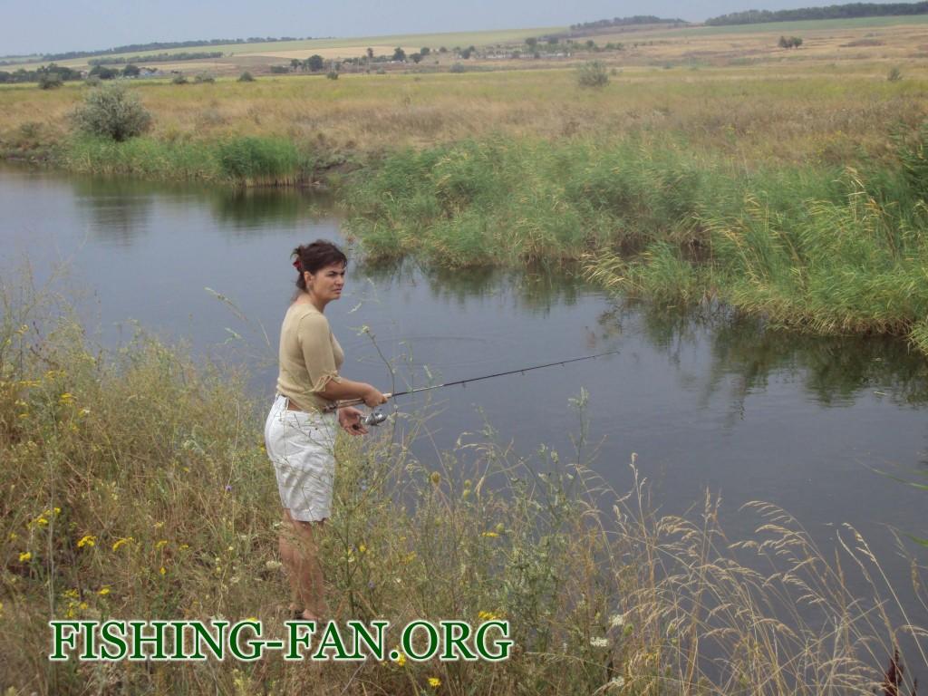 рыбалка на щуку со спиннингом в Донецкой области