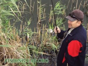 ловля окуня осенью на спиннинг в Донецкой области