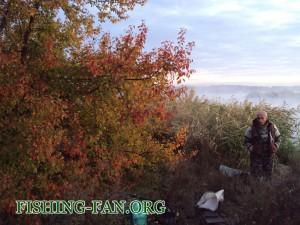 рыбалка осенью в Донецкой области