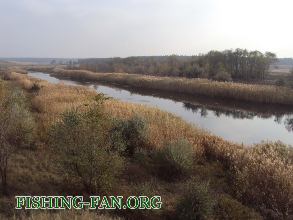 рыбалка осенью на реке Мокрые ялы