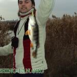 Дневник рыбака 05 11 2011. Рыбалка осенью на реках Донецкой области, крупный окунь и щучка