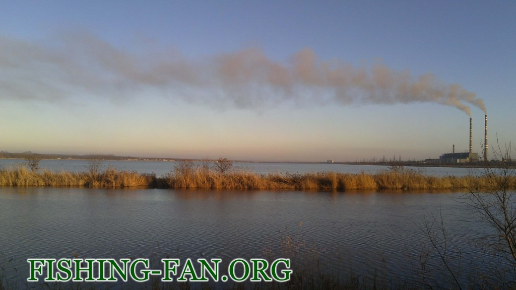 рыбалка зимой на Курахово со спиннингом