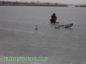 рыбалка в декабре в Донецкой области