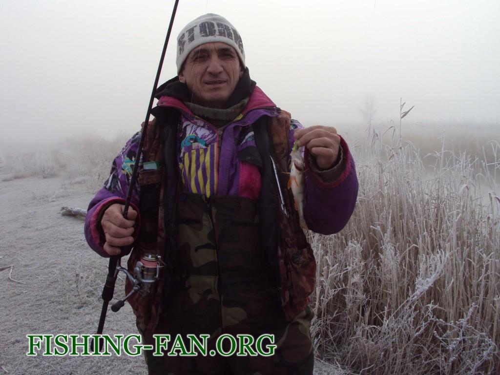 ловля окуня зимой на спиннинг в Донецкой области
