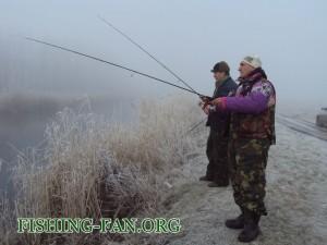 рыбалка зимой в Донецкой области на спиннинг