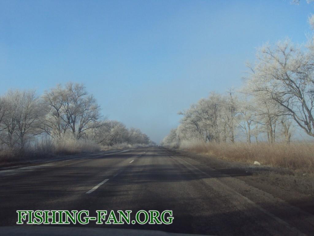 рыбалка в зимний сезон в Донецкой области