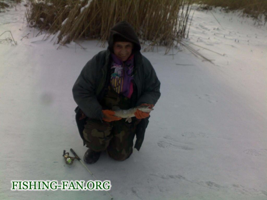 зимняя ловля щуки на балансир в Донецкой области