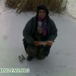 Дневник рыбака 22 01 12 г. Первая полноценная зимняя рыбалка на щуку в Донецкой области.