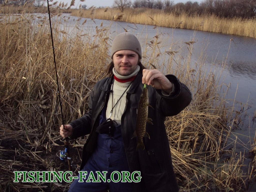 клев щуки в январе в Донецкой области