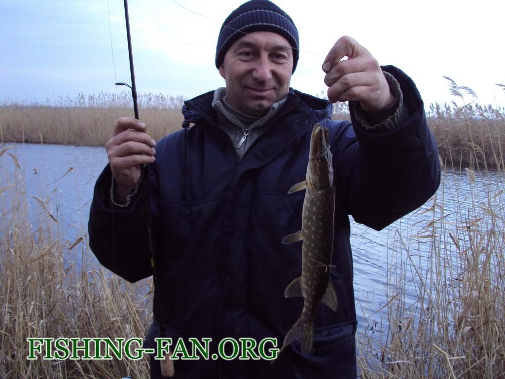 рыбалка зимой на спиннинг в Донецкой области