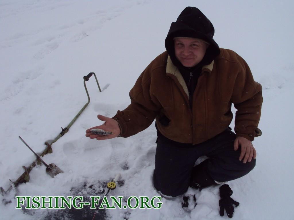 зимняя рыбалка. ловля на мормышку в Донецкой области