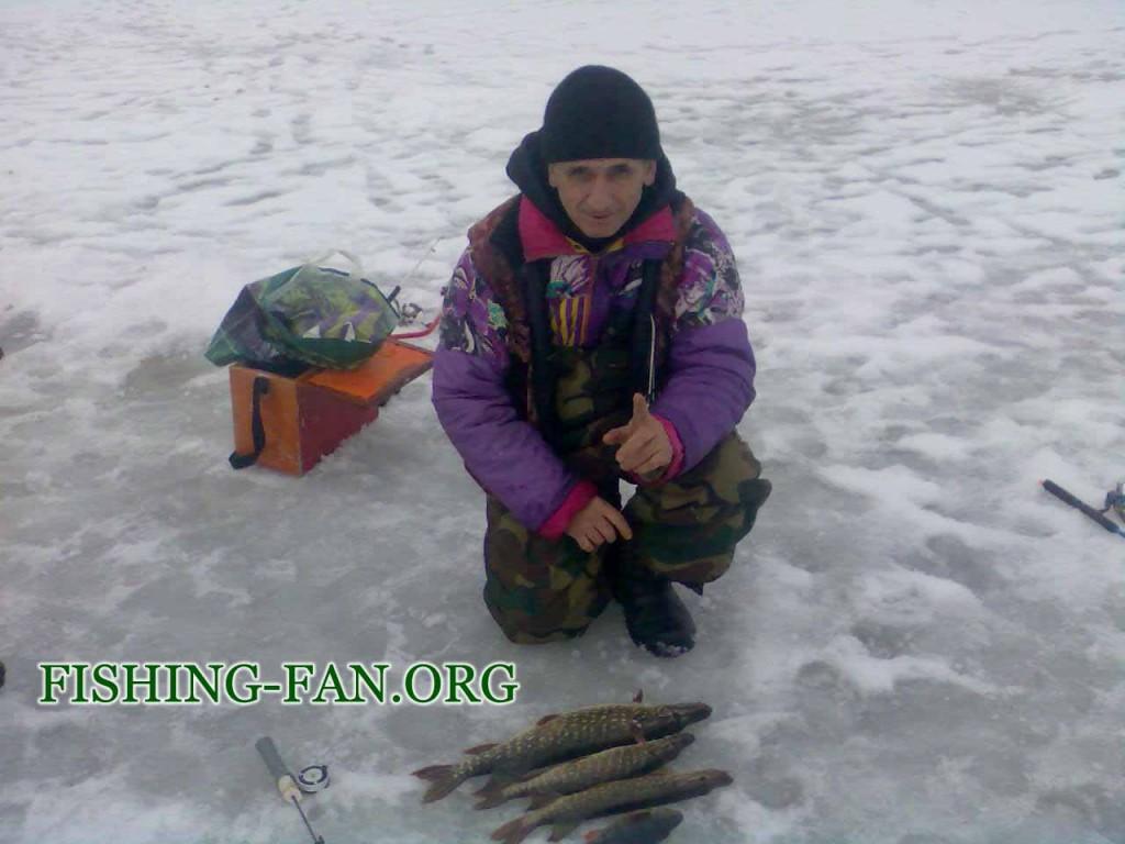 ловля зимой на балансир в Донецкой области