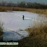 Дневник рыбака 10 03 12 г. Весенняя рыбалка в Донецкой области.