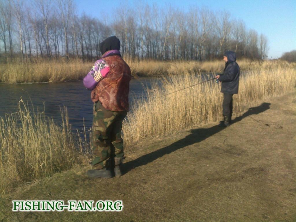 Ловля спиннингов на реке Волчья