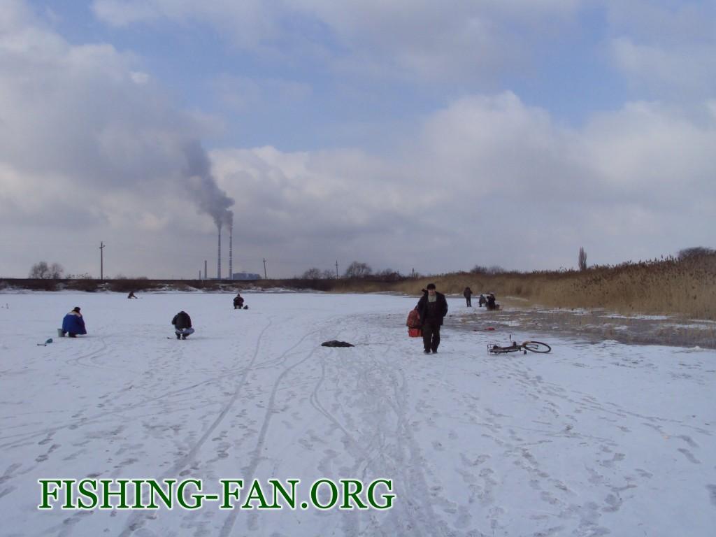Ловля красноперки зимой в Донецкой области