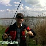 Дневник рыбака 16 04 12 г. Ловля судака в апреле в Донецкой области.