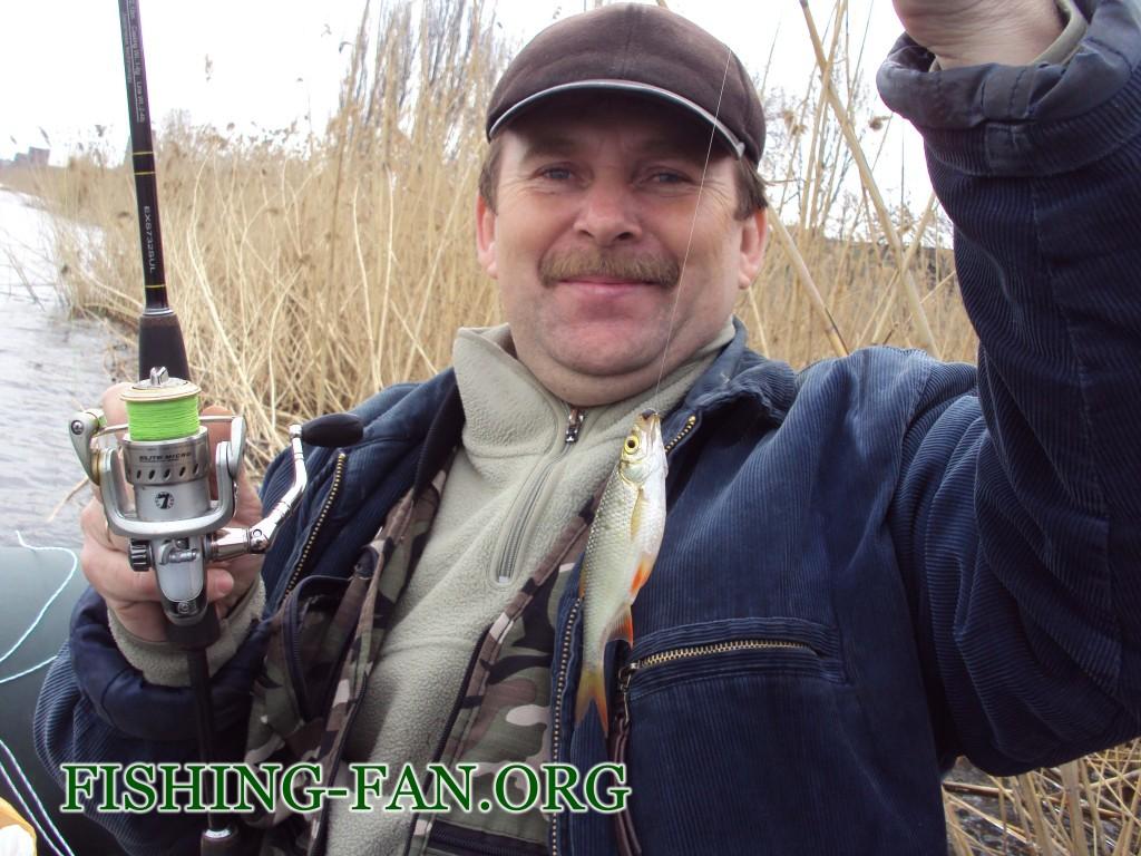 Ловля красноперки весной спиннингом в Донецкой области