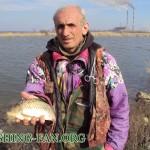 Дневник рыбака 14 04 12 г. Ловля карася и красноперки спиннингом на Кураховском водохранилище.