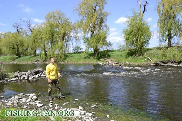 отчет о ловле голавля в Донецкой области