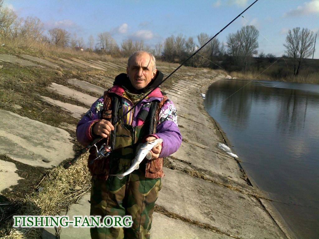 Ловля судака спиннингом в Донецкой области