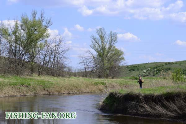 ловля голавля на спиннинг весной