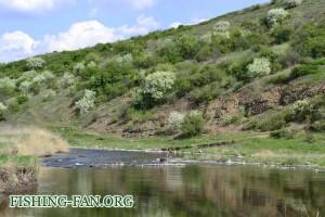 Весенняя рыбалка на голавля в Донецкой области