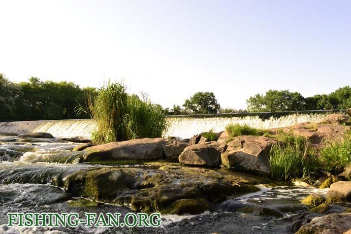 ловля на спиннинг в начале лета на реках Донецкой области