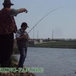 Дневник рыбака 05 05 12 г. Ловля окуня спиннингом на Николаевском водохранилище.